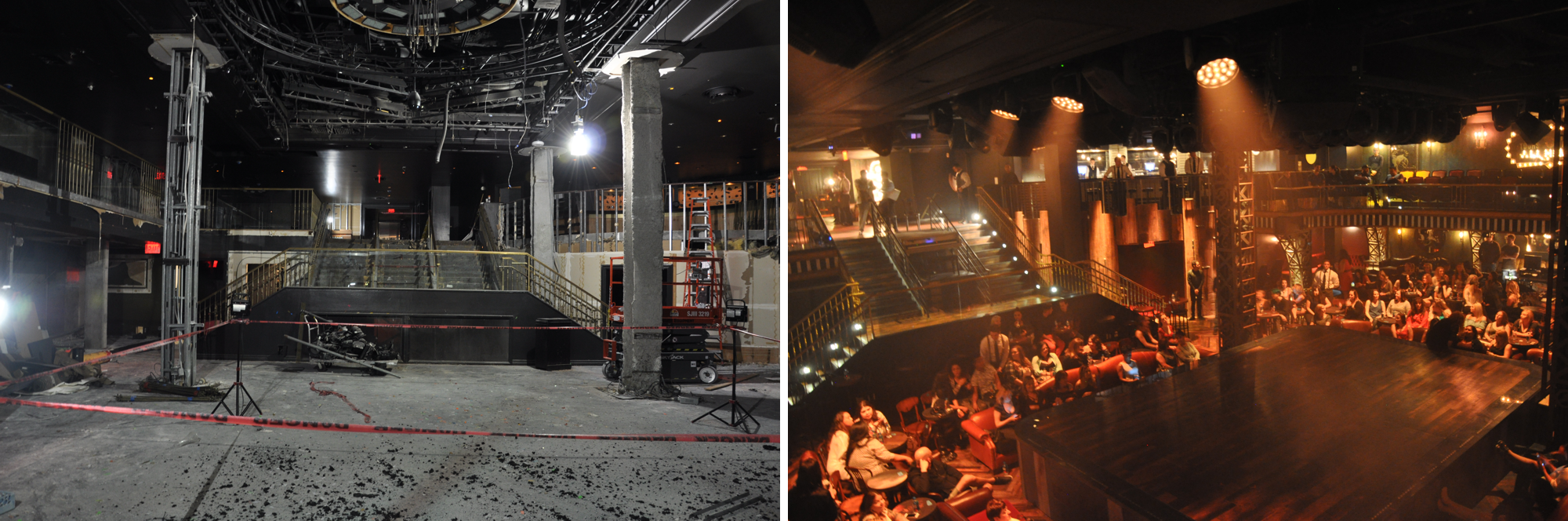Photo|Model: Venue Before & After
