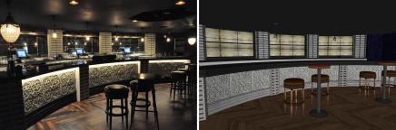Photo|Model: Mezzanine Bar