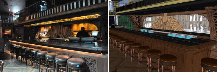Photo|Model: Main Bar